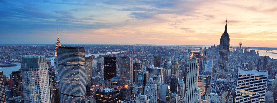 M New York - Vol New York pas cher
